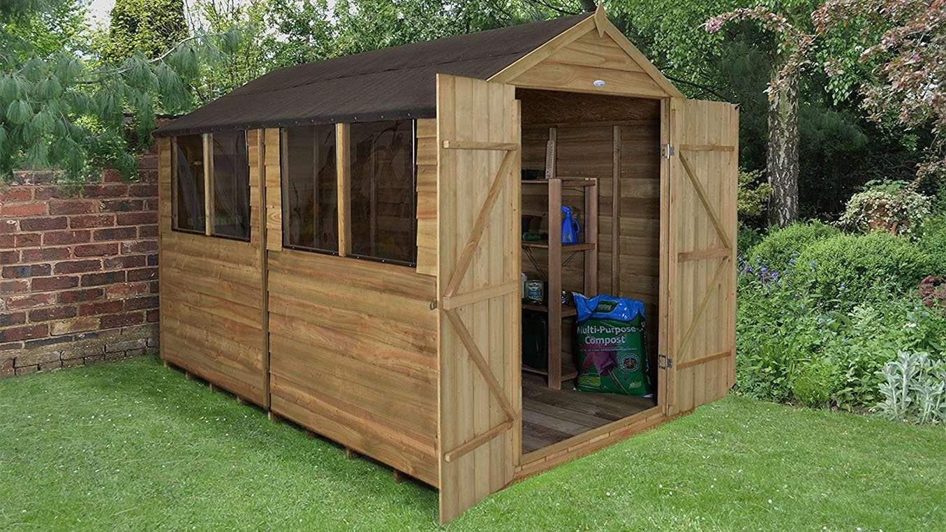 11 best garden sheds 2018 buying advice best sheds ranked for Best garden sheds