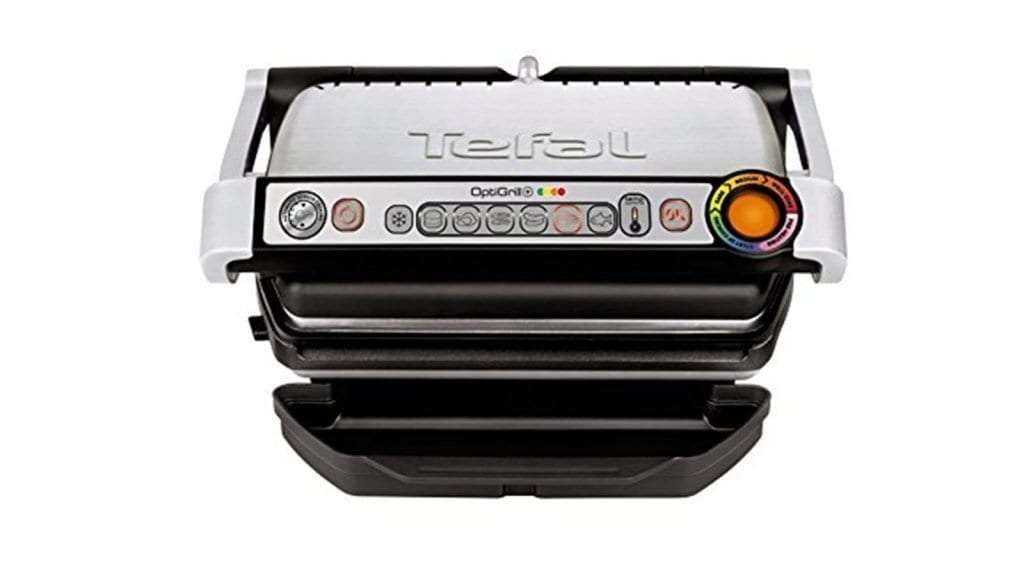 Best George Foreman Grills 2017 Tefal GC713D40 Stainless Steel OptiGrill Plus Health Grill
