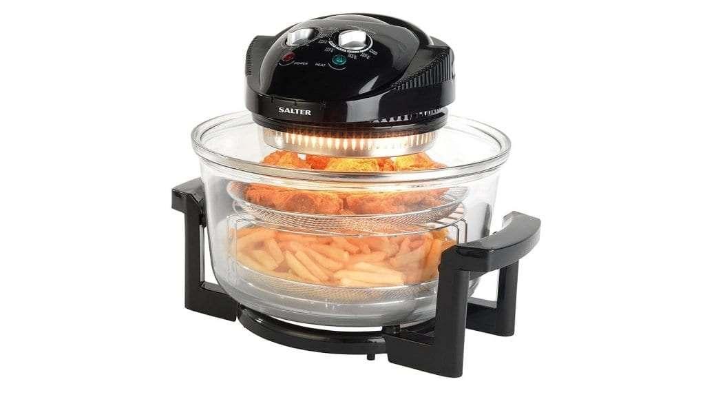 Best Halogen Oven - Salter EK1950 Low Fat Fryer Triple Power Halogen Convection Infrared Cooker