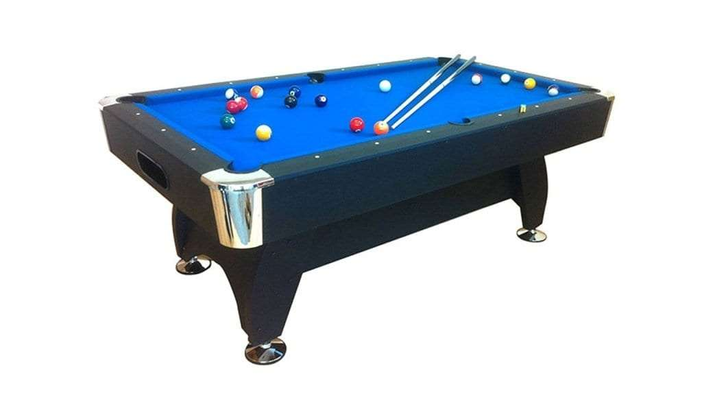 Best Pool Table - 7Ft Graphica Pool Table WOOD