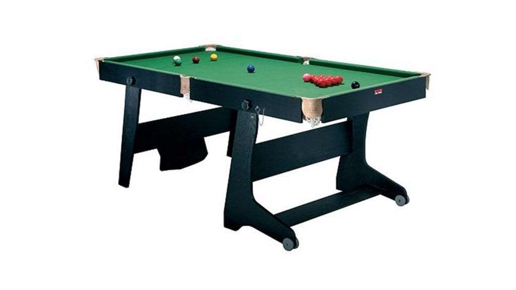Best Pool Table - FS-6 Riley Vertical Folding Pool Table WOOD