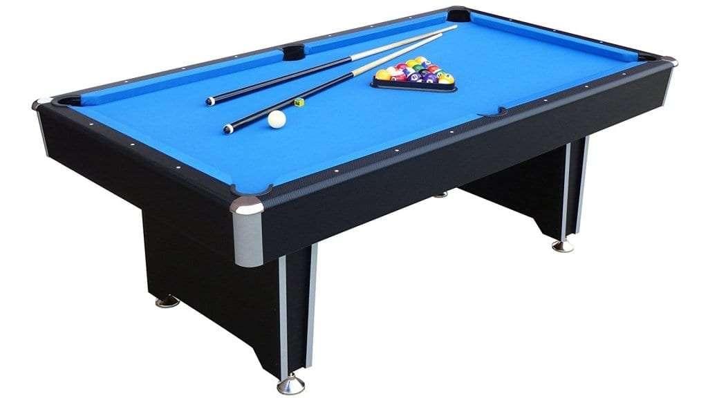 Best Pool Table - Mightymast Leisure Callisto Pool Table WOOD