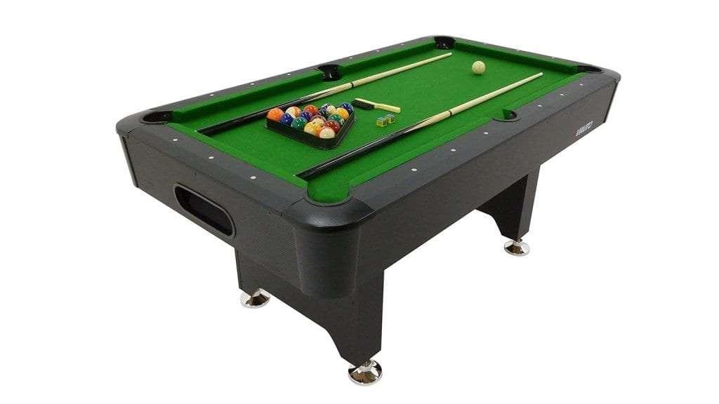 Best Pool Table - ViavitoPT200 6ft Pool Table WOOD