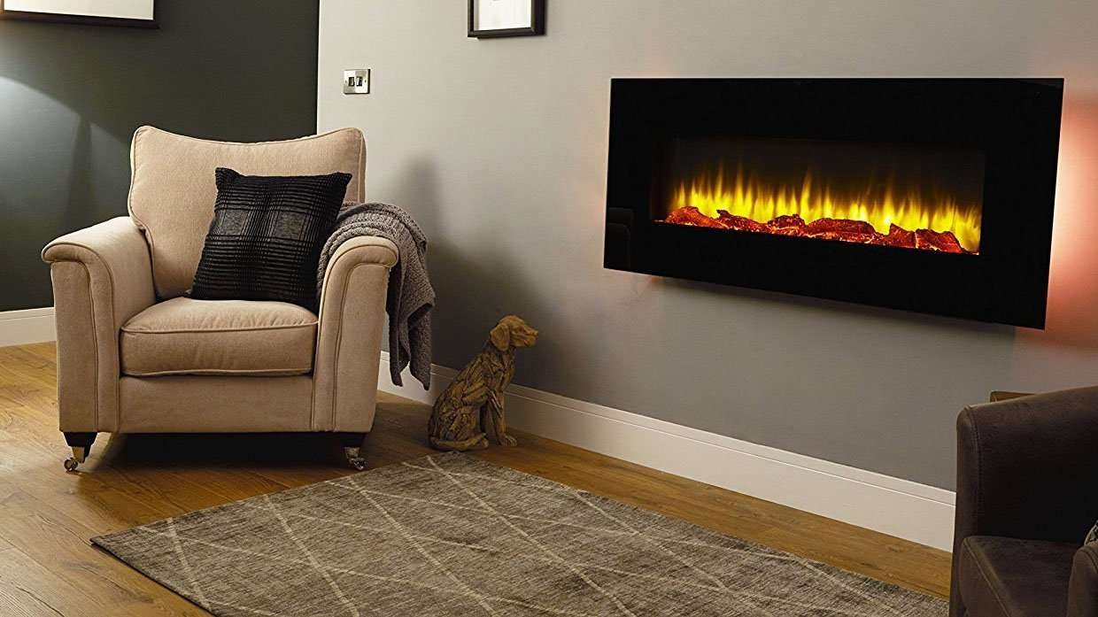 Best Electric Fires 2018 Endeavour Holbeck Wall Mounted Fire