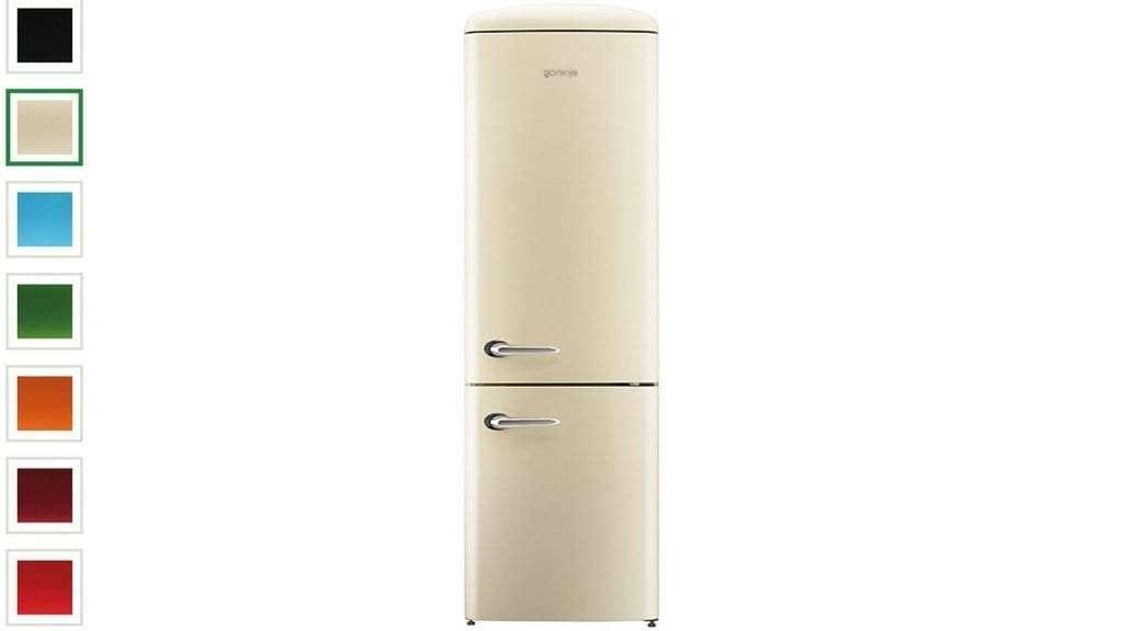 Best retro fridges - Gorenje ORK193