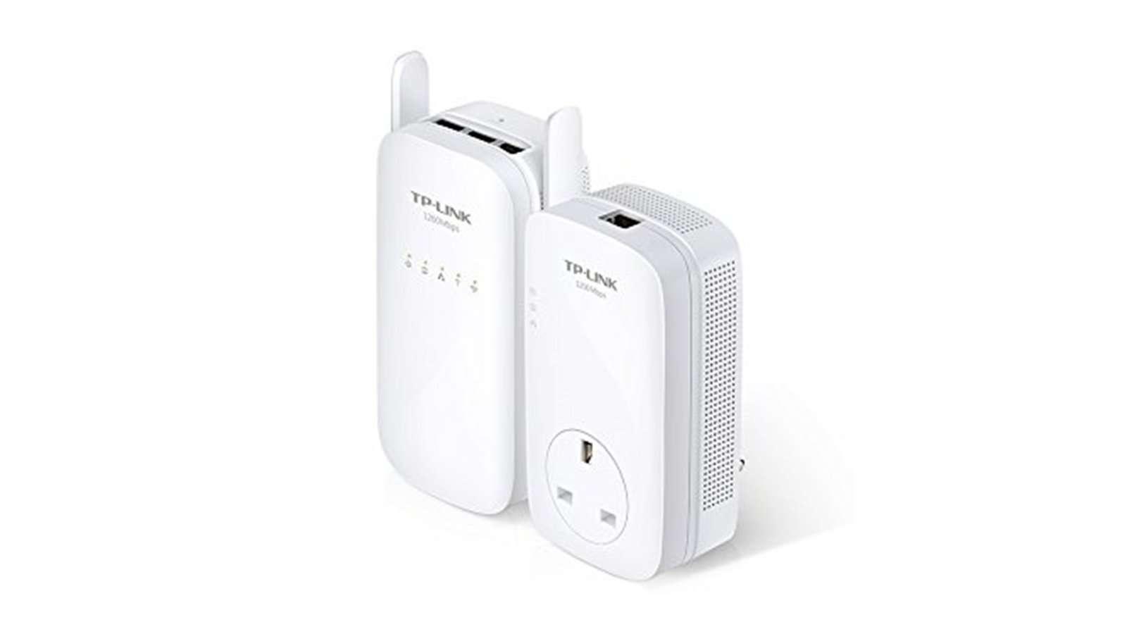 Best Powerling Adapter 3 - TP-Link AV1200