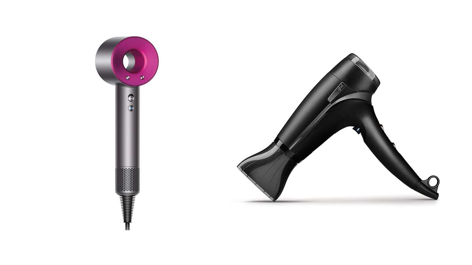 Dyson Supersonic vs ghd Aura