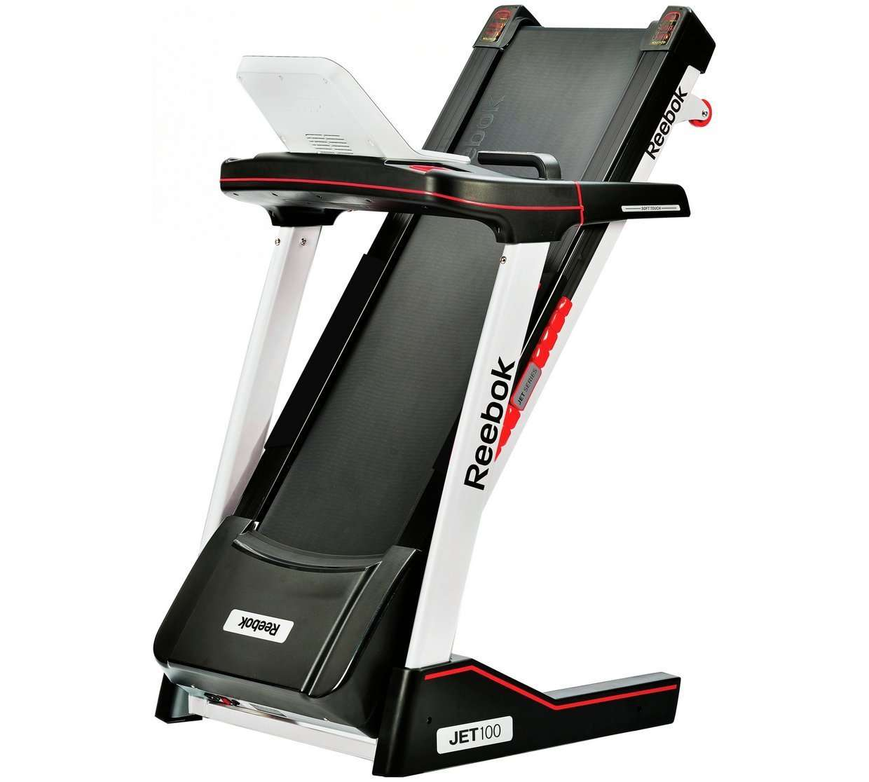 Reebok Jet 100 Treadmill review folded