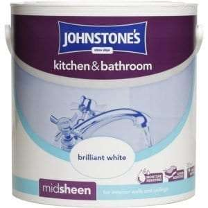 Best Bathroom Paint - Johnstone's 303966 Kitchen and Bathroom Emulsion Paint