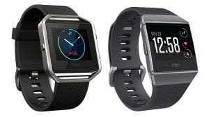 Which Fitbit is best - Fitbit-Blaze-vs-Ionic