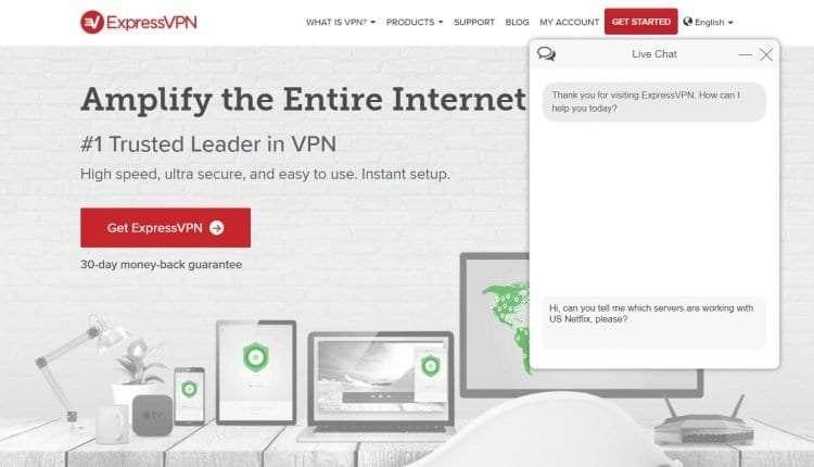 Netflix not working with VPN TunnelBear - ExpressVPN