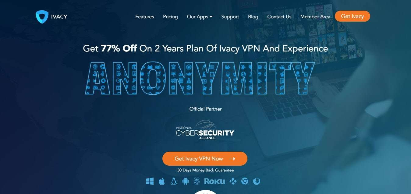 Best Dedicated IP VPN service - Ivacy