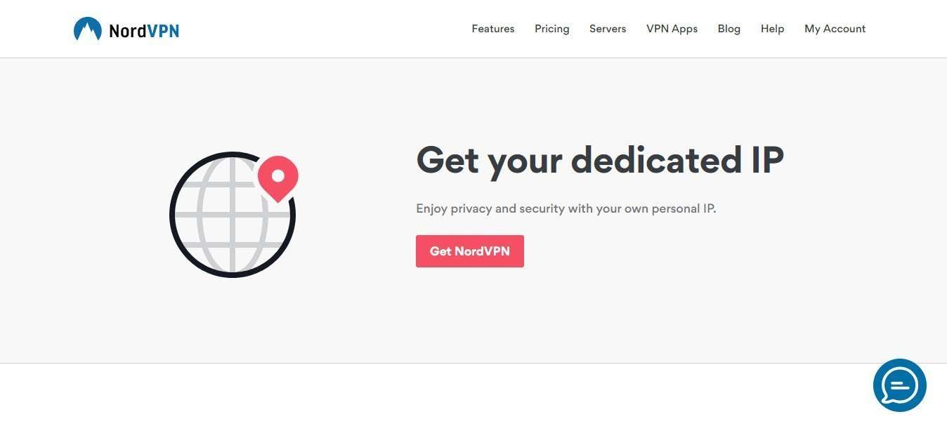 Best Dedicated IP VPN service - NordVPN