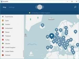 How to watch 4oD abroad - NordVPN