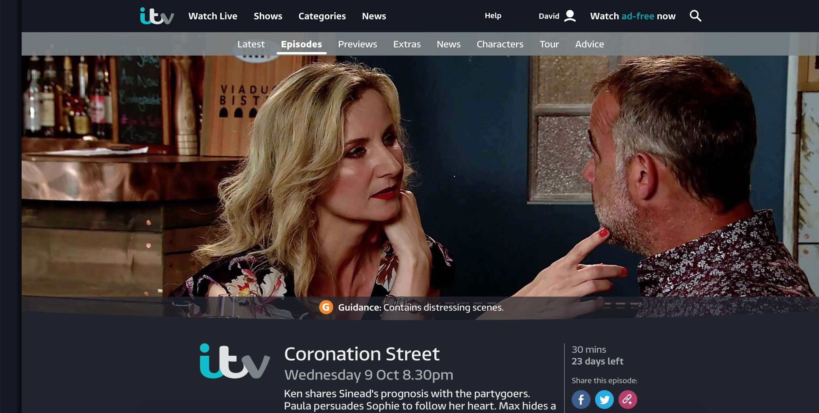 How to watch Coronation Street abroad