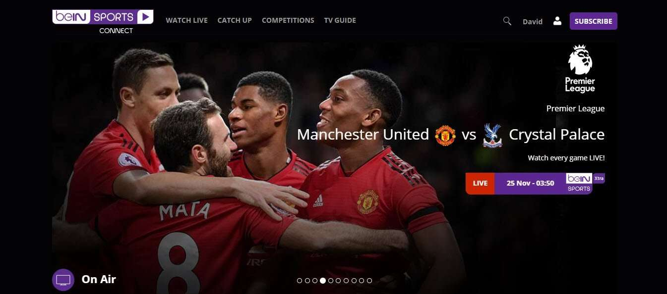 How to watch beIN SPORTS in the UK - Man United