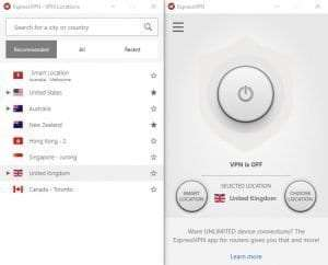 All 4 not working with VPN - ExpressVPN