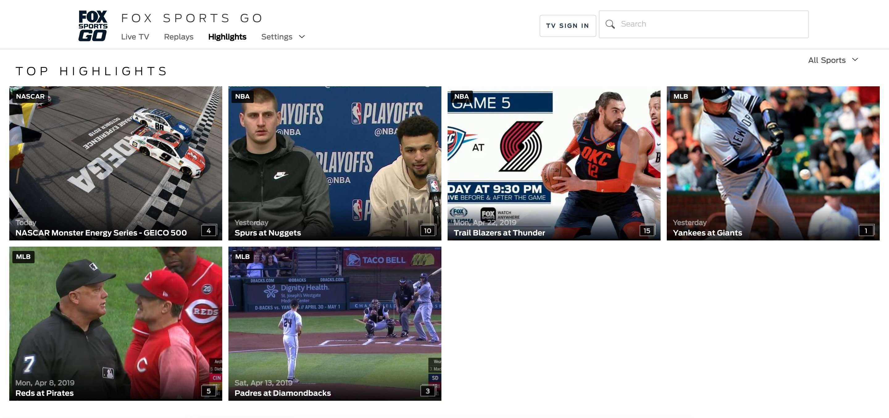 Fox Sports Go not working with a VPN