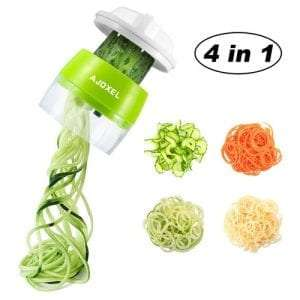 AJOXEL Vegetable Spiralizer Handheld