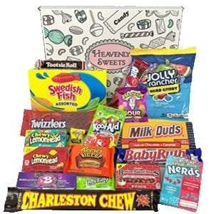 American Sweets and Chocolate Bar Gift Box Selection buy