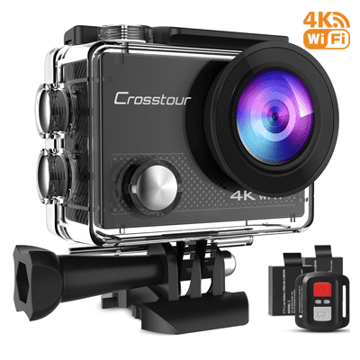 Best GoPro alternatives - Crosstour Action Camera