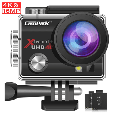 Best GoPro alternatives - Campark ACT74 Action Camera