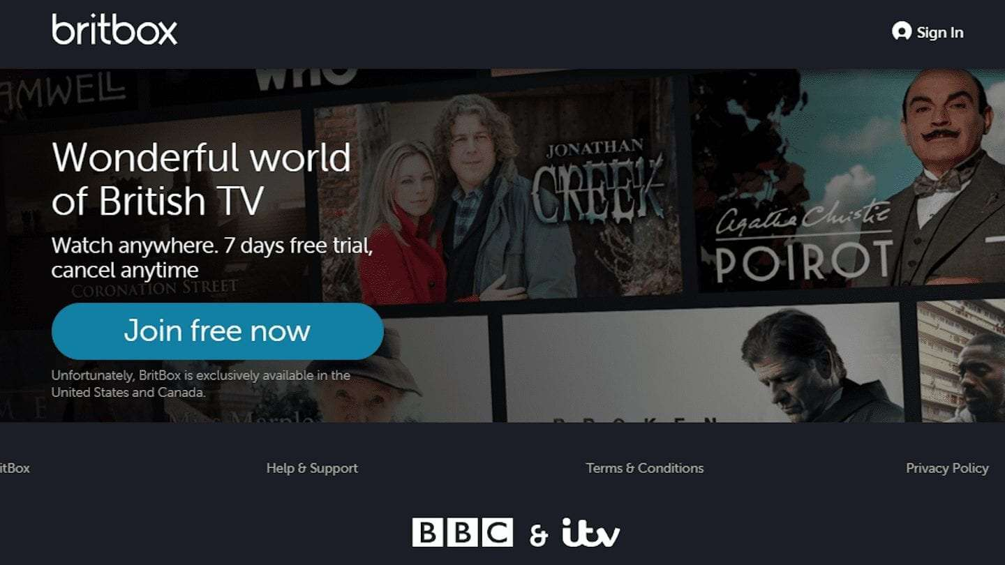 How to watch BritBox abroad