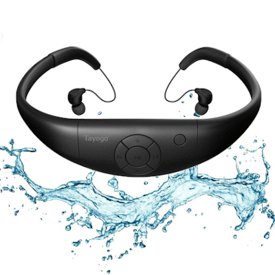 Best waterproof headphones for swimming - Tayogo Waterproof MP3 player