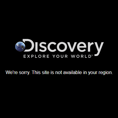 Discovery Channel error message