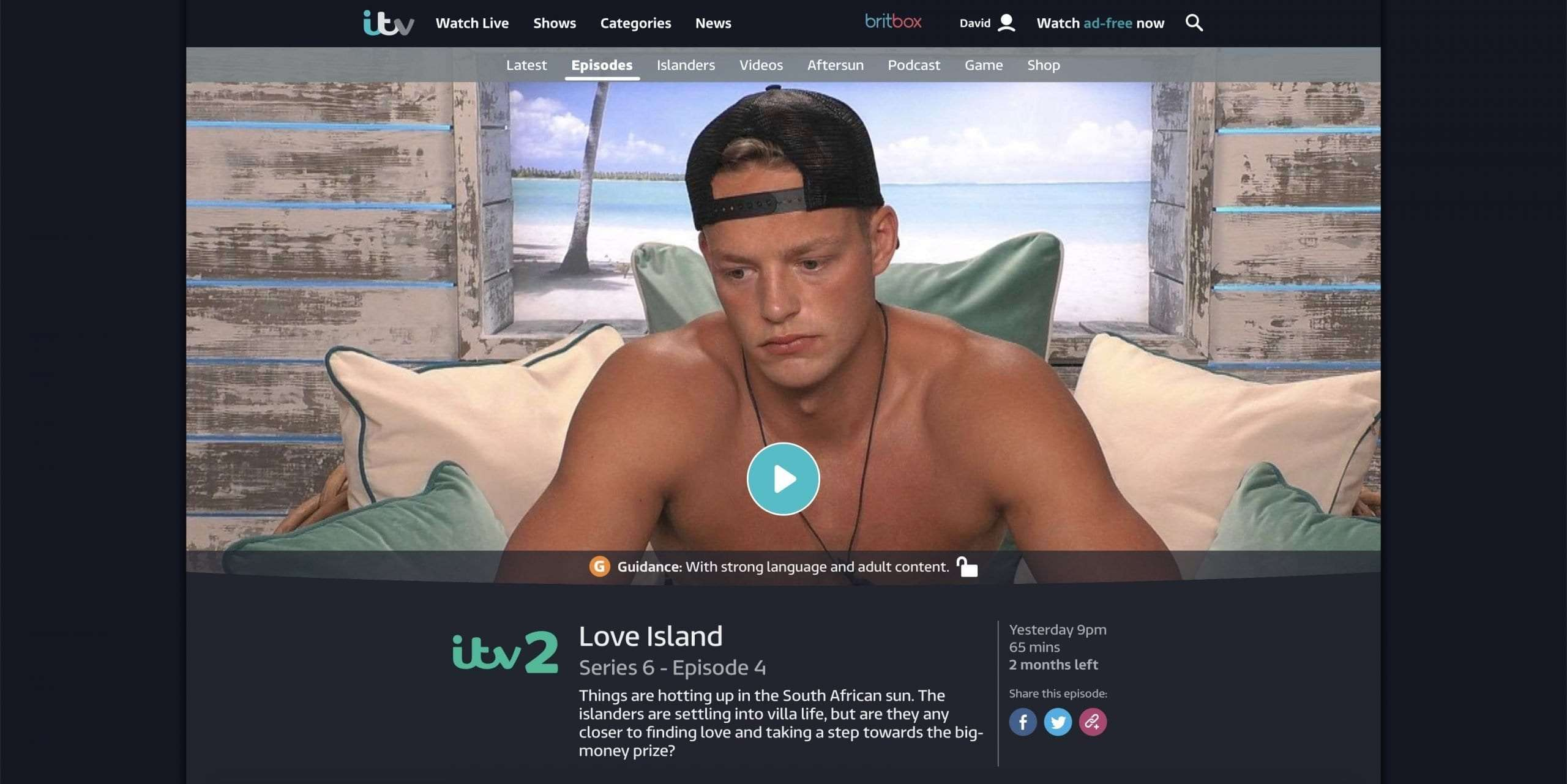 ITV Hub not working with VPN?