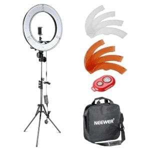 Neewer 12-inch Inner/14-inch Outer LED Ring Light and Light Stand