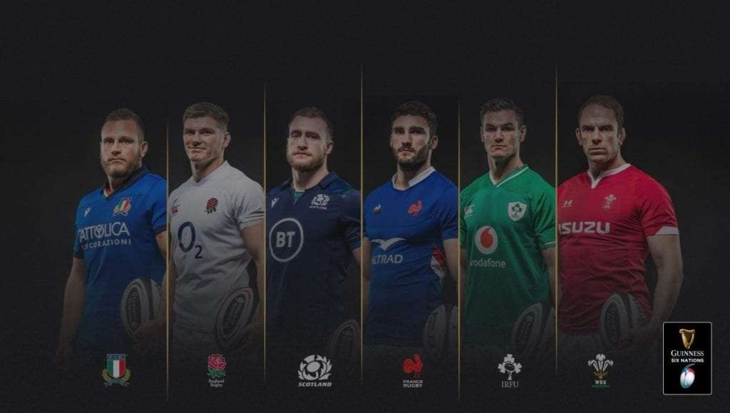 How to watch 6 Nations abroad (outside UK) 2020