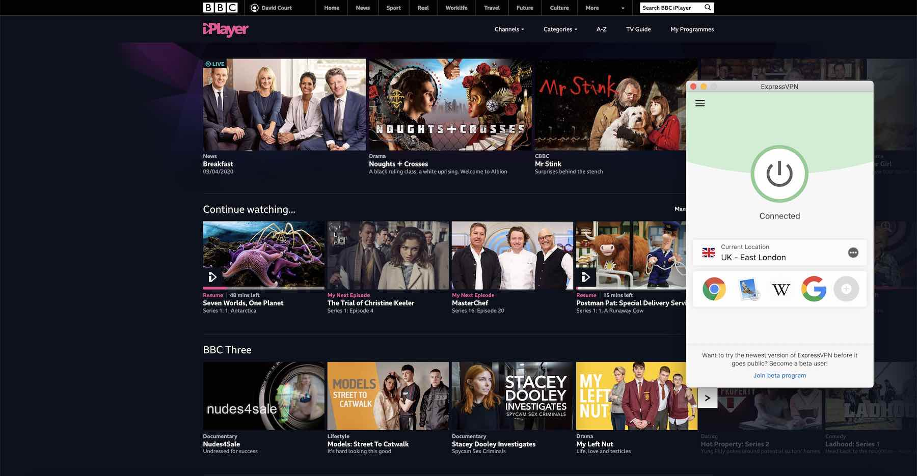 How to watch UK TV in New Zealand