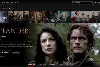 Is Outlander on Netflix?