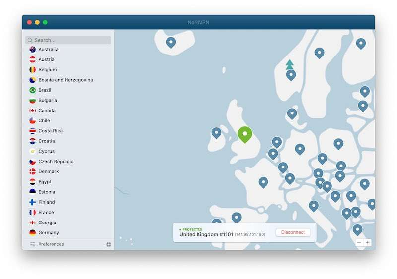 How to listen to TMS abroad NordVPN UK