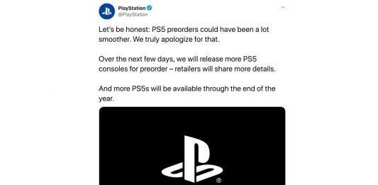 PS5 Preorder mess