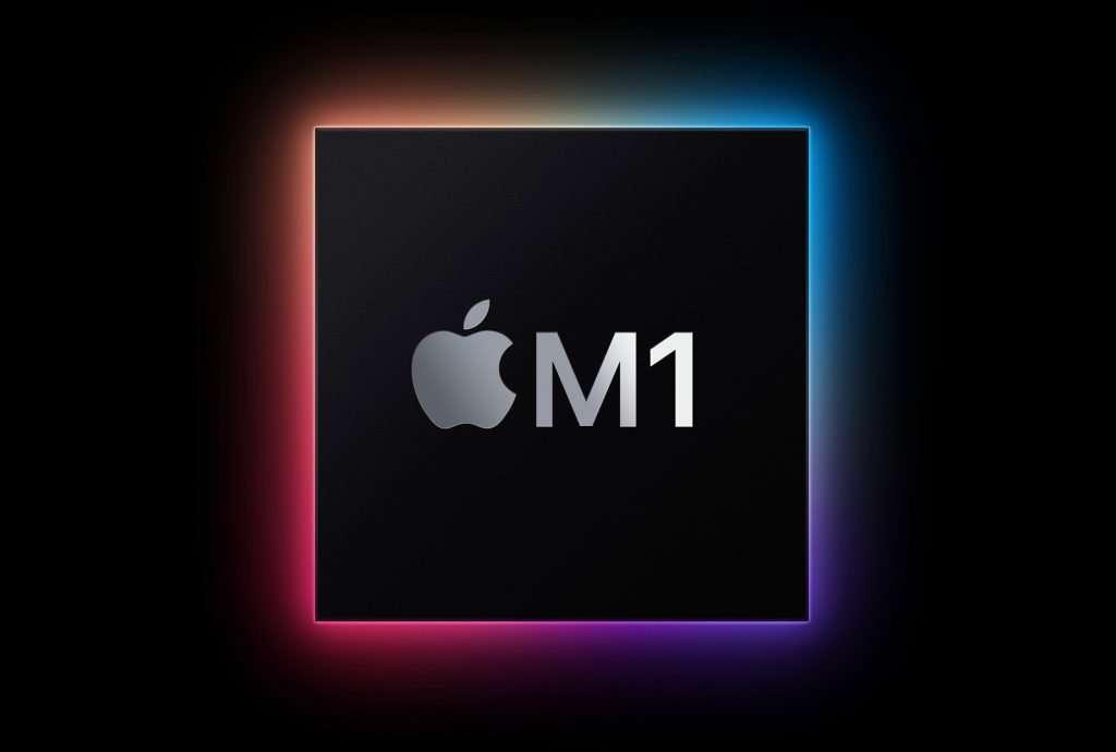 Apple MacBook Air review (Late 2020) - M1 Chip logo