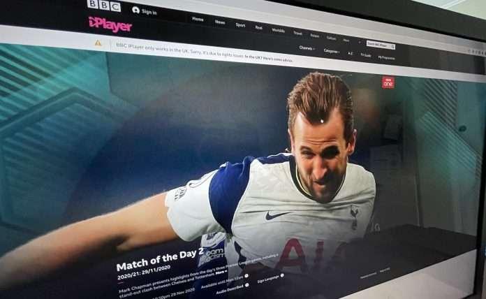 BBC iPlayer not working with VPN December 2020
