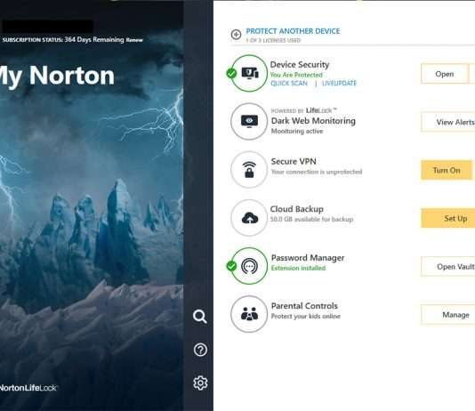 Norton 360 for Gamers review 1