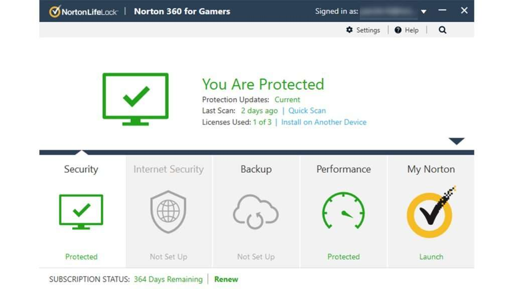 Norton 360 for Gamers review 3