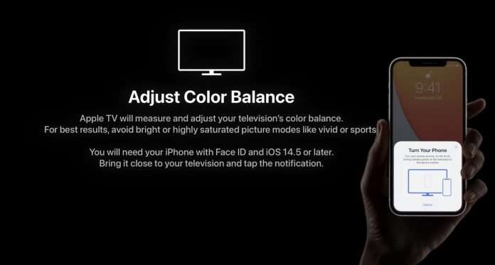 Apple Spring Loaded Event - Calibrate Apple TV with your iPhone