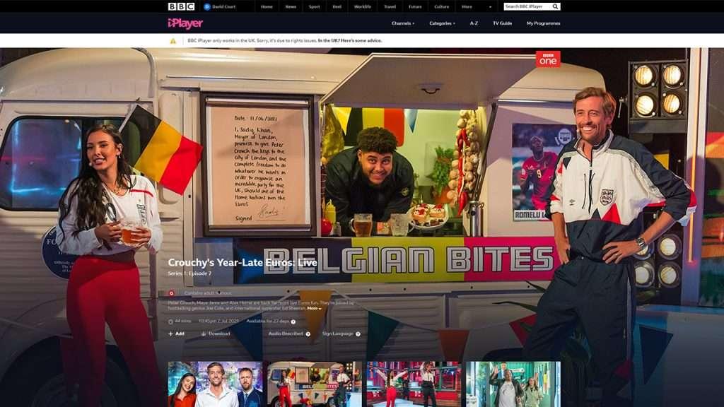 BBC iPlayer not working with VPN 1