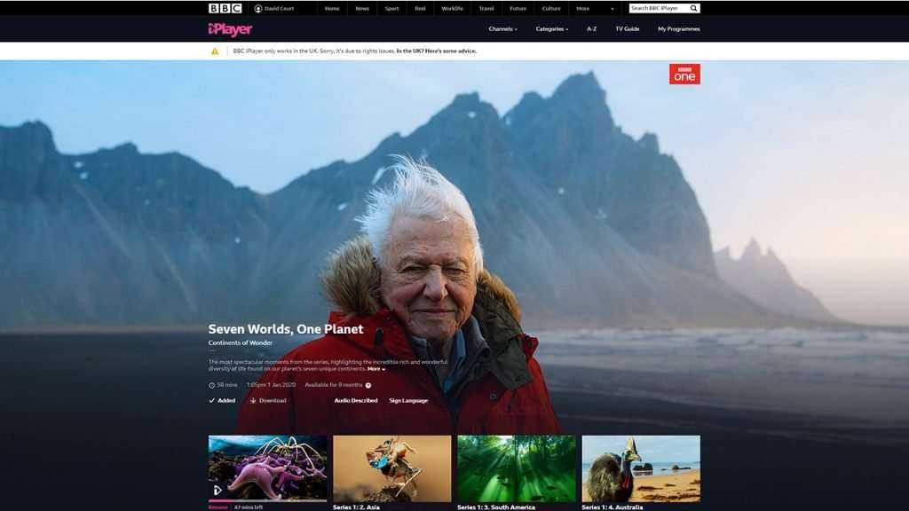 Hotspot Shield not working with BBC iPlayer 4