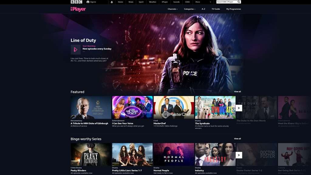 tunnelbear not working with bbc iplayer