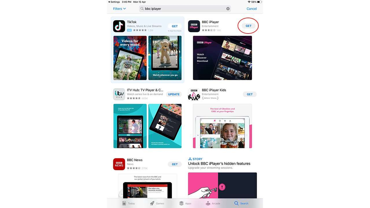 How to get BBC iPlayer on the US app store 6