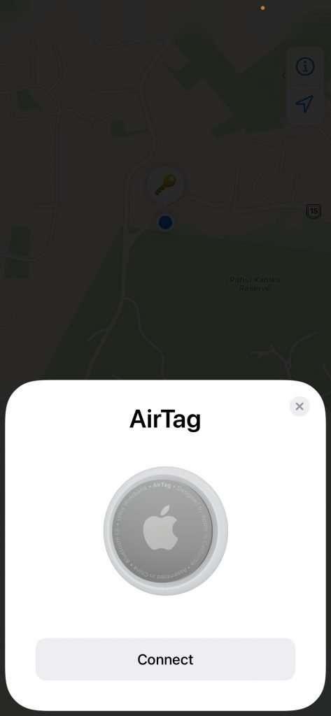 AirTags review setup 6