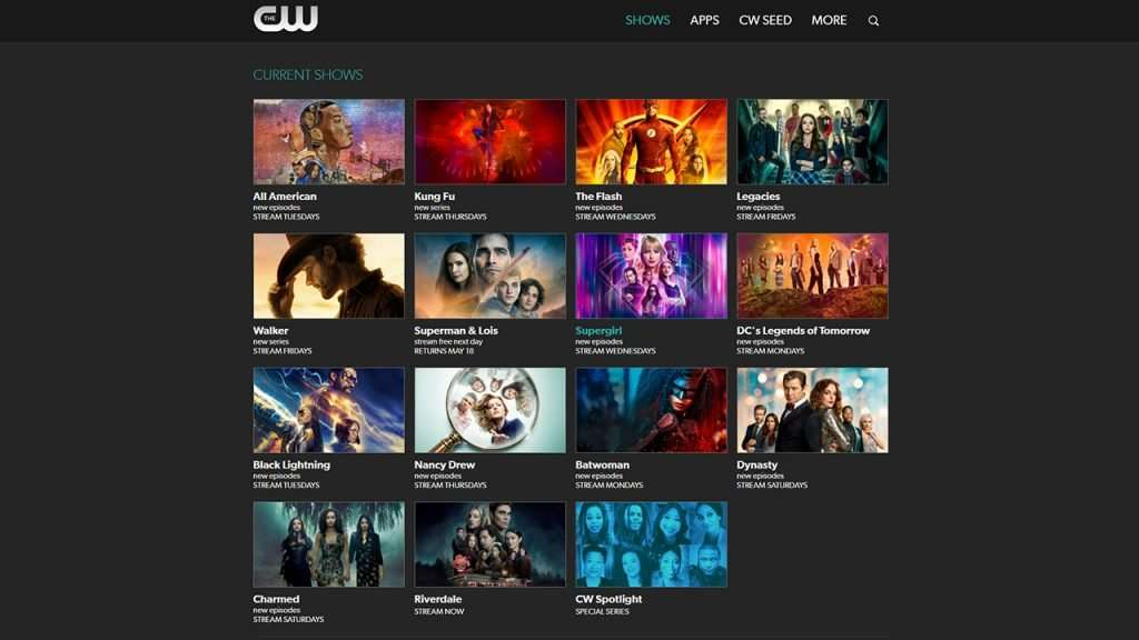 How to watch The CW outside the US 2