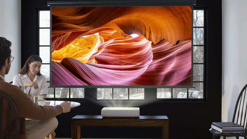 Samsung Premiere LSP9T Projector review 4