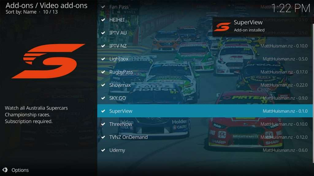 Watch V8 Supercars in NZ 1