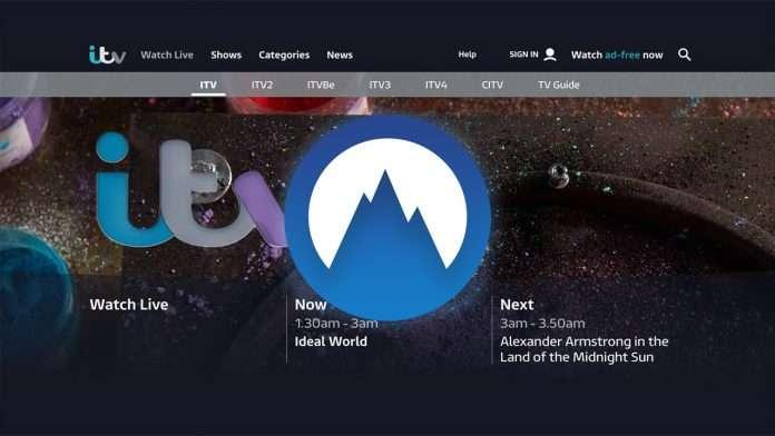 NordVPN not working with ITV Hub 1